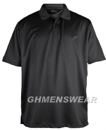 Mesh Polo Shirt BLACK